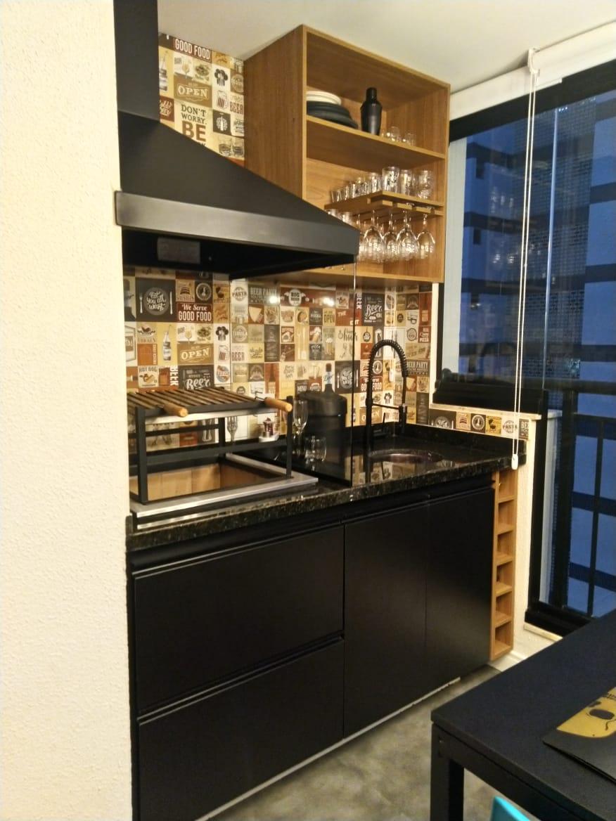 Condomínio Living Wish Santo Amaro – Espaço Gourmet